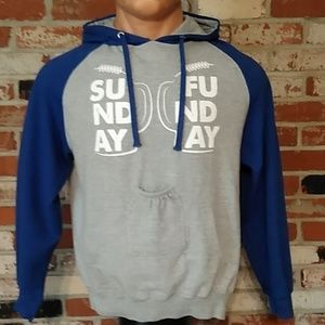 """Brew City Beer Pouch """"Sunday Funday"""" Hoodie"""